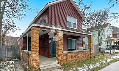 Building, 1039 Baldwin St SE, 1