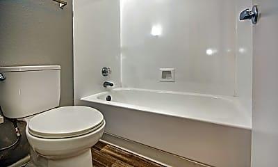 Bathroom, Verde Apartments, 2