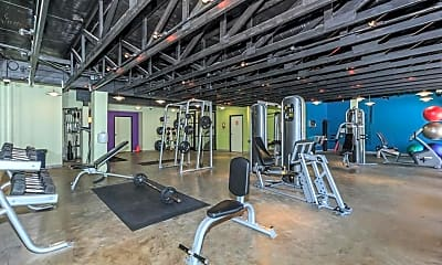 Fitness Weight Room, Las Colinas Heights, 0