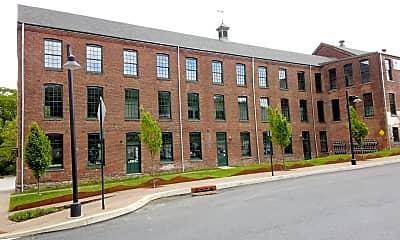 Building, Simon Silk Mill, 2