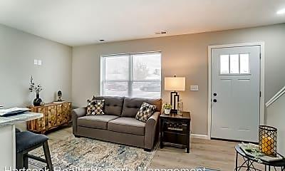Living Room, 1105 E Market St, 1