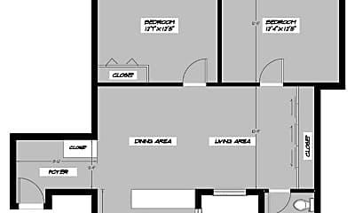 Bathroom, 233 W 21st St, 2