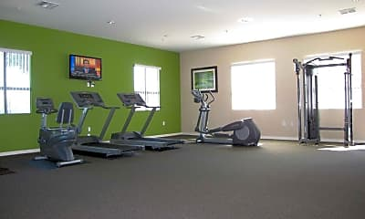 Fitness Weight Room, Siegel Suites Tolleson, 1