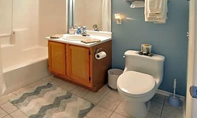 Bathroom, Canfield Mews, 2