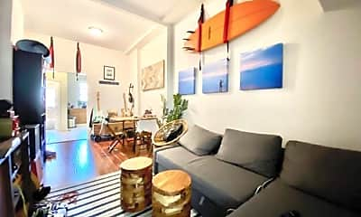 Living Room, 165 India St, 1