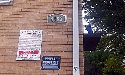 Community Signage, 4163 Harrison Ave, 2