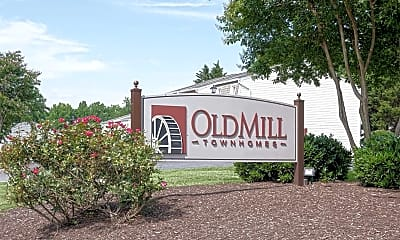Community Signage, Old Mill Townhomes, 2