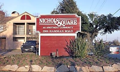 Community Signage, Nichols Square, 2