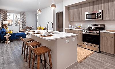 Kitchen, Las Positas Apartments, 0