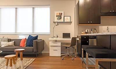 Living Room, 511 S 4th St 419, 1
