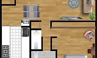 Living Room, 134 S Elm Dr, 1
