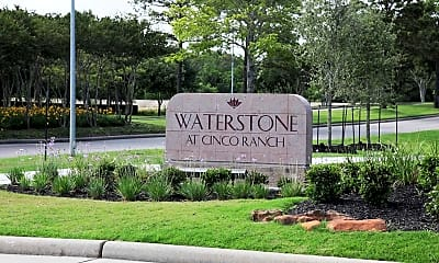 Community Signage, Waterstone At Cinco Ranch, 2