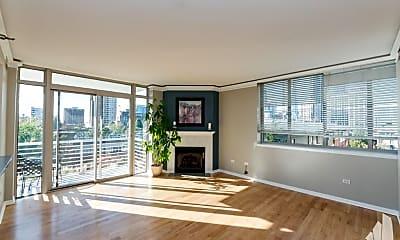 Living Room, 1515 S Prairie Ave, 1