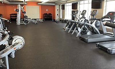 Fitness Weight Room, The Depot, 2