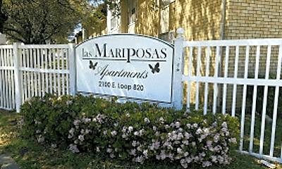 Community Signage, Las Mariposas, 0