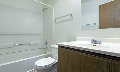 Bathroom, Rosemont Place Apartments, 2