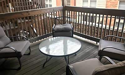 Patio / Deck, 3727 N Milwaukee Ave 101, 1