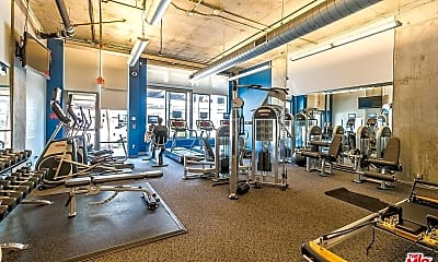 Fitness Weight Room, 1100 S Hope St 1704, 2