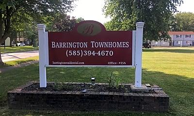 Barrington Townhomes, 1