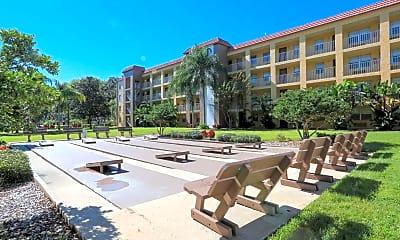 Recreation Area, Griffin Park Apartments, 1