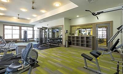 Fitness Weight Room, Lodge at Black Forest, 2