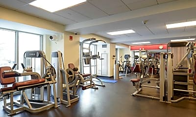 Fitness Weight Room, Fenway Triangle Trilogy, 2
