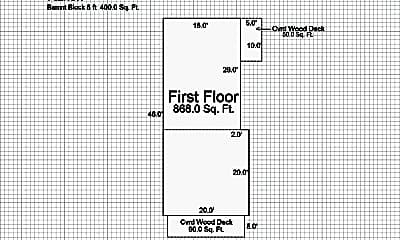Bedroom, 2507 S 25th St, 2