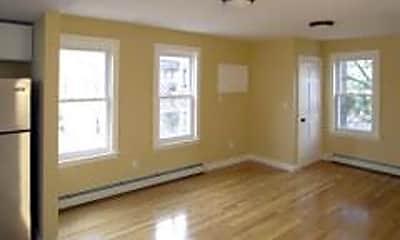 Living Room, 214R Harvard St, 1