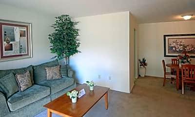 Living Room, Wingood Manor, 1