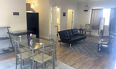 Dining Room, 15244 La Maida St, 1