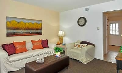 Living Room, Eleven Oaks, 0