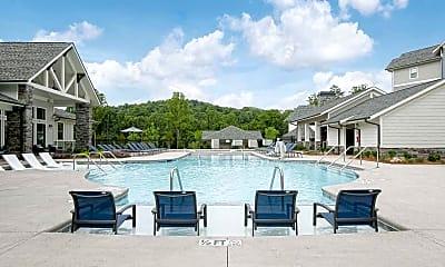 Pool, Asheville Exchange, 1