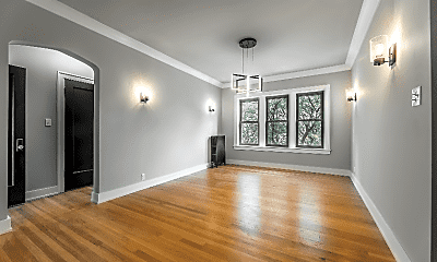 Living Room, 841 E 86th St, 1