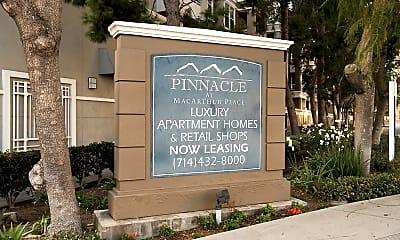 Community Signage, Pinnacle at MacArthur Place, 1