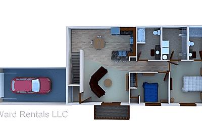 Bedroom, 1220 Sunset St SW, 2