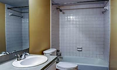 Bathroom, Cove Apartments, 2