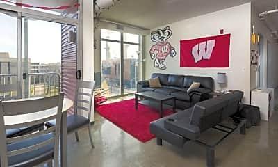 Living Room, 210 N Charter, 1
