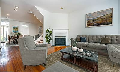 Living Room, 3148 Q St NW, 1