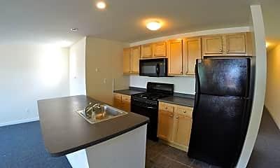 Kitchen, 4518-22 Osage Avenue, 1