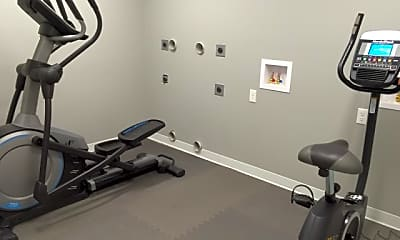 Fitness Weight Room, The Villas Downtown Springfield, 1