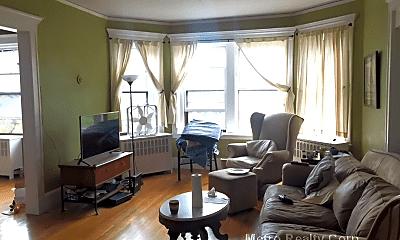 Living Room, 1197 Beacon St, 0