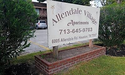Allendale Village, 1