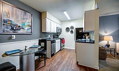 Kitchen, University Lake, 1