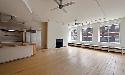 Living Room, 77 Mercer St 5-N, 1
