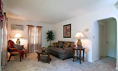Living Room, High Pointe Apartments, 1