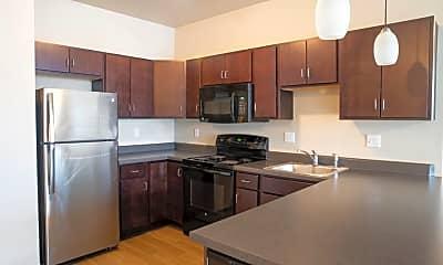 Kitchen, West Towne Flats, 0