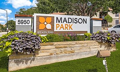 Community Signage, Madison Park, 1