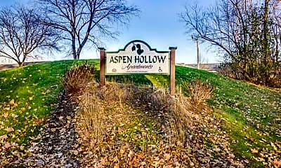 Community Signage, Aspen Hollow, 1