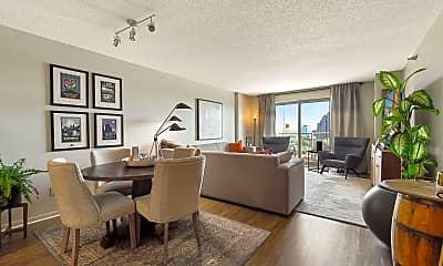 Living Room, 401 N 1st St 1409, 0