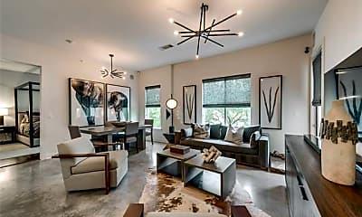 Living Room, 2950 McKinney Ave 204, 0